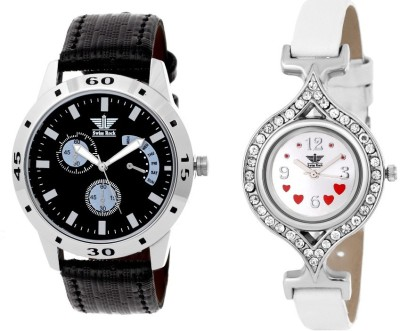 Swiss Rock Trendy Pair Analog Watch  - For Couple