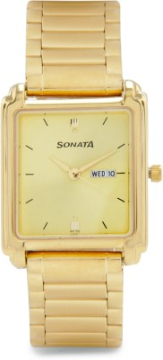 Sonata NG7053YM05 Analog Watch  - For Men