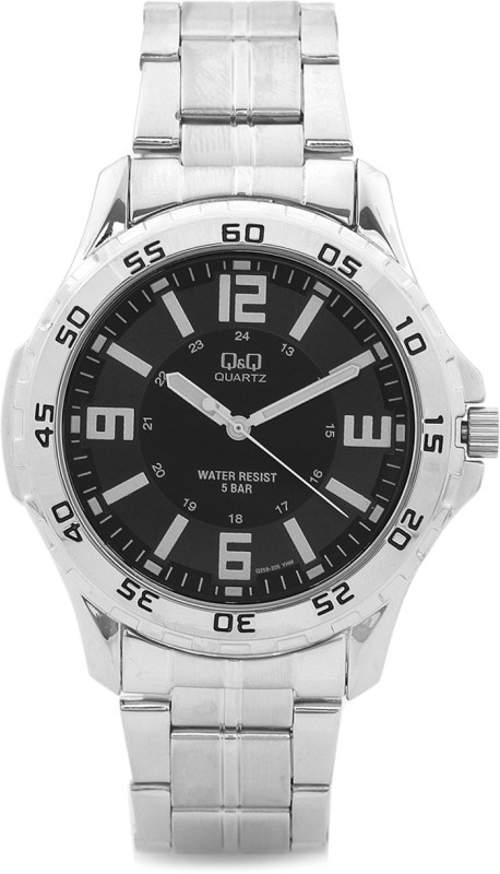 QQ Q258J205Y Analog Watch For Men