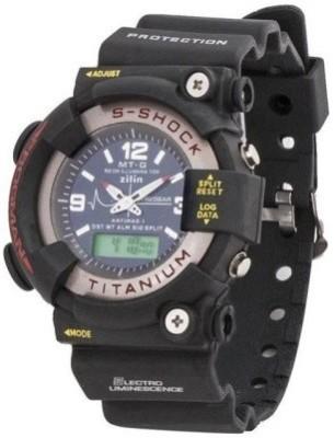 S-Shock S-Shock-FullBlack Analog-Digital Watch  - For Boys, Men