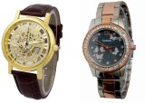 SOOMS CBZ-0005 Analog Watch  - For Coupl...