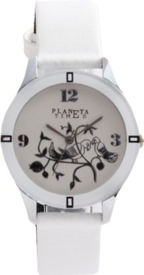 Planeta Times PLT-025-L-WHT_010 Analog Watch  - For Women