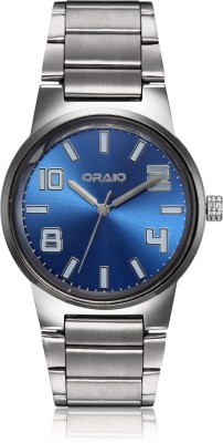 Oraio OR1518 Steel Analog Watch  - For Men
