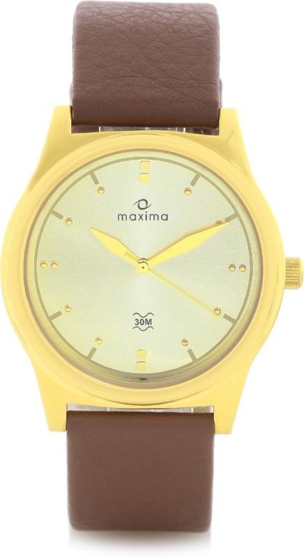 Maxima 38667LMGY Analog Watch For Men