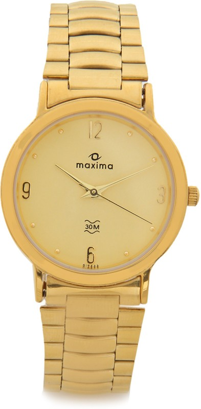 Maxima 19433CMGY Analog Watch For Men