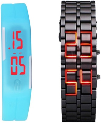 Oxhox Combodeal5 Digital Watch  - For Couple