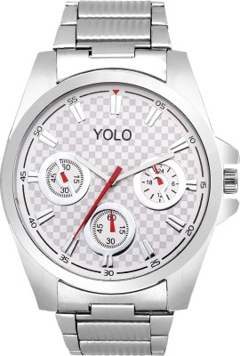 Yolo YGC-068 WHITE Analog Watch  - For Boys, Men