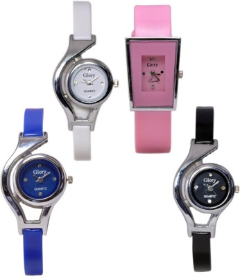 RODEC Combo of 4 womensglorry analog watch Analog Watch  - For Girls, Women