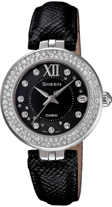 Casio SX117 Sheen Analog Watch For Women