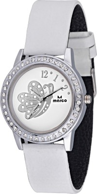 Marco MR-LR055-WHT-WHT Marco Analog Watch  - For Women