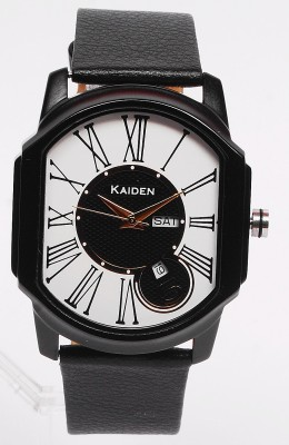 Kaiden S108 Rome White Analog Watch  - For Men