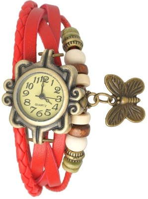 Ely Bracelet vintage Butterfly watch Analog Watch  - For Girls, Women