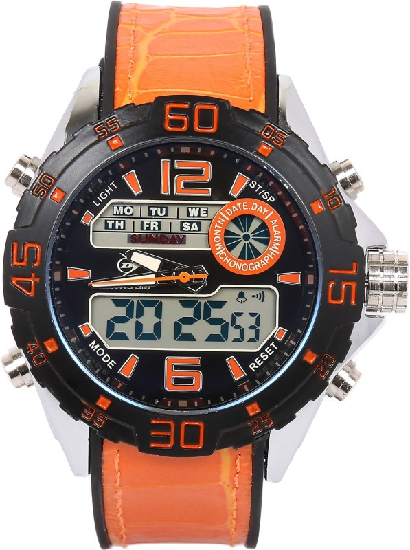 Dunlop DUN 271 G01 Dunlop Analog Digital Watch For Men