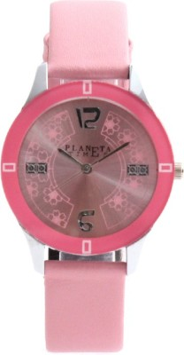 Planeta Times PLT-023-L-PNK_008 Analog Watch  - For Women