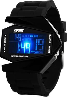 Skmei 0817B-Black Digital Watch - For Men, Women, Boys, Girls