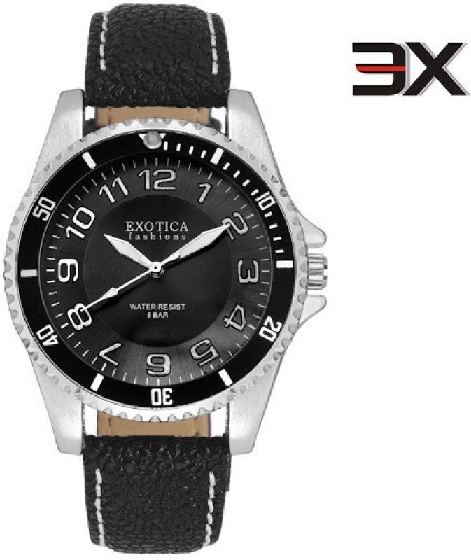 Exotica Fashions EFG 70 LS Z Black NS New Series Analog Watch
