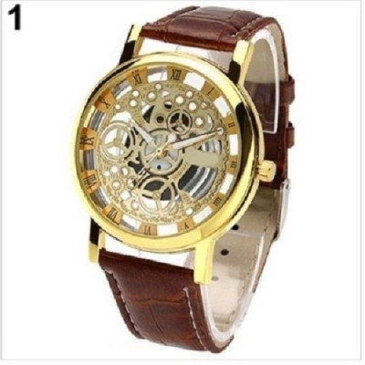 RODEC Hitman Willer Brown Transparent Mens Watch Analog Watch  - For Men