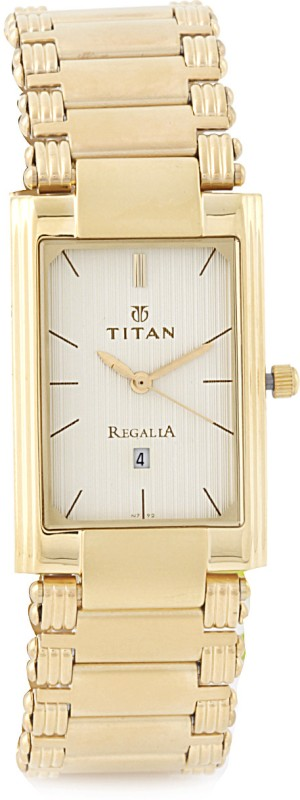 Titan NF1234YM02 Regalia Analog Watch For Men