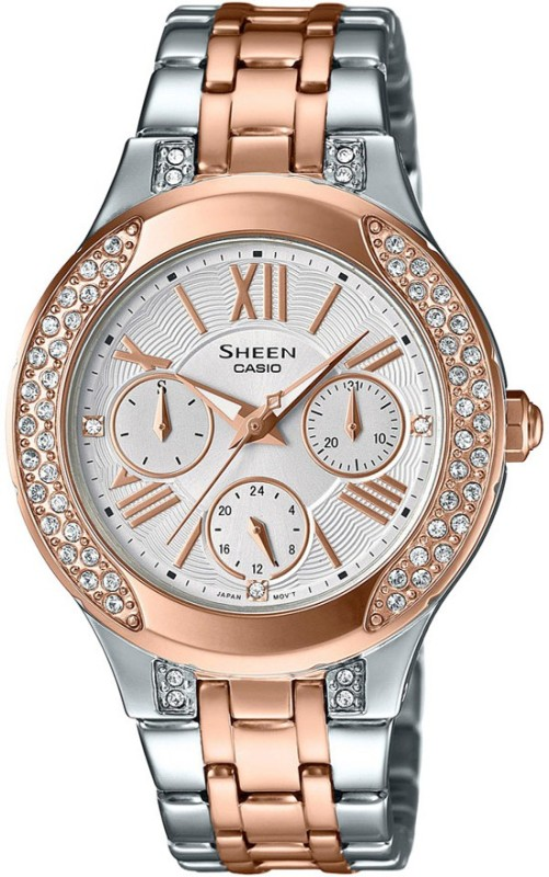 Casio SX176 Sheen Analog Watch For Women
