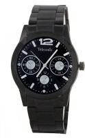 Telesonic GCBK06BLACK Platinum Time Analog Watch For Men