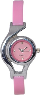 A R Sales Designer Pink WC Analog Watch - For Women