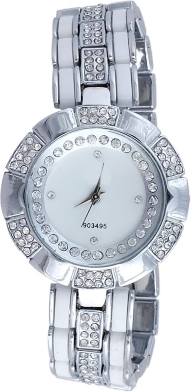 Super Drool SD0133WTSILVER Analog Watch For Women