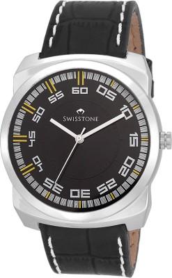 SWISSTONE GR101-BLK-BLK Analog Watch  - For Men, Boys