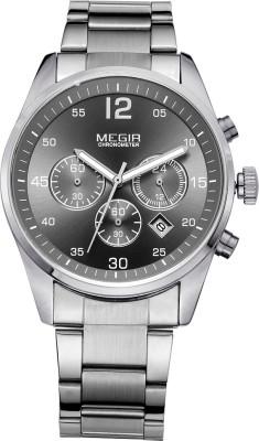 Megir 2010-Grey Analog Watch  - For Men