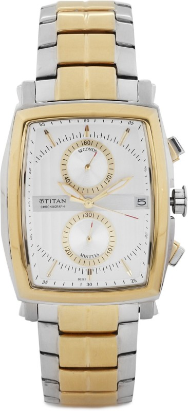 Titan NH1660BM01 Analog Watch For Men