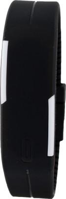 Pappi Boss Unisex Black LED Digital Watch - For Boys, Girls, Men, Women