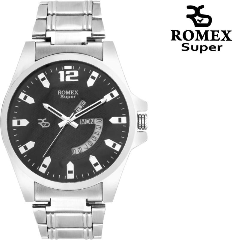 Romex Day N Date Elegant 11 BLK Analog Watch For Men