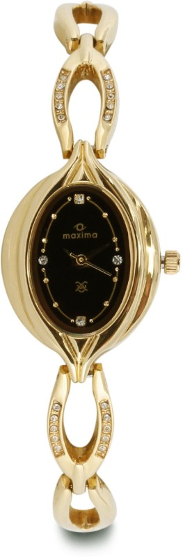 Maxima 21104BMLY Gold Analog Watch For Women