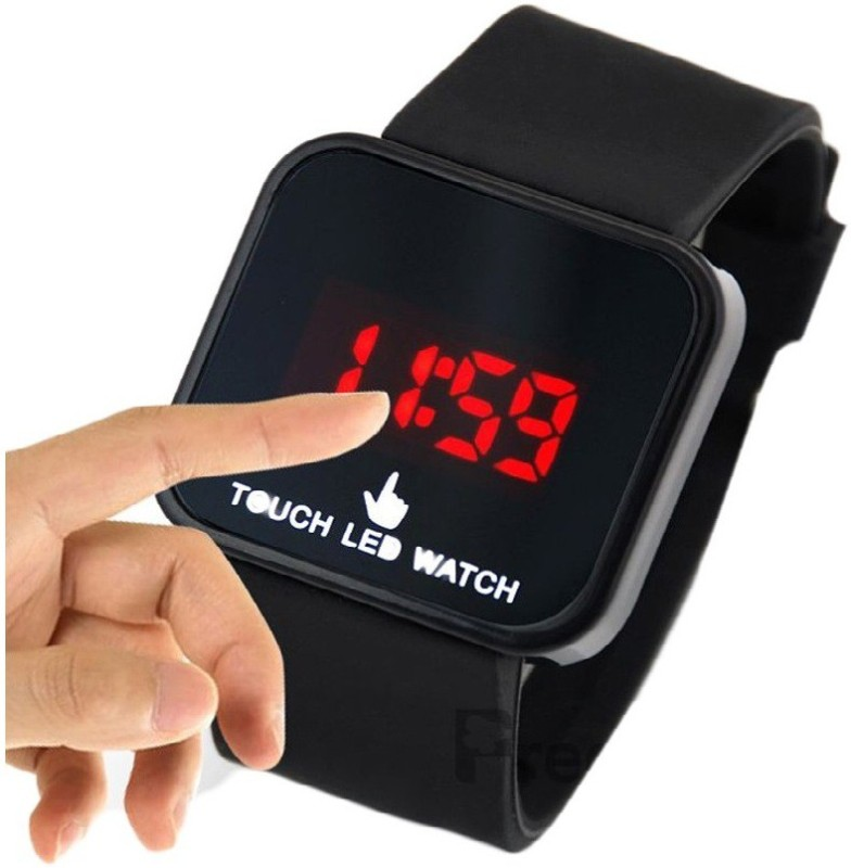 Настройка происходит в три шага: касайтесь экрана для выставления текущего количество часов, ожидайте 4 секунды для перехода к настройке минут.