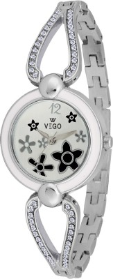 Vego AGF031 Vego Silver Color Analog Watch For Women,s(AGF031) Analog Watch  - For Women