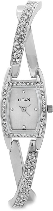 Titan NF9851SM01 Purple Analog Watch For Women