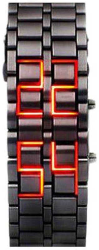 Skmei orignal black with red LED Digital Watch For Men
