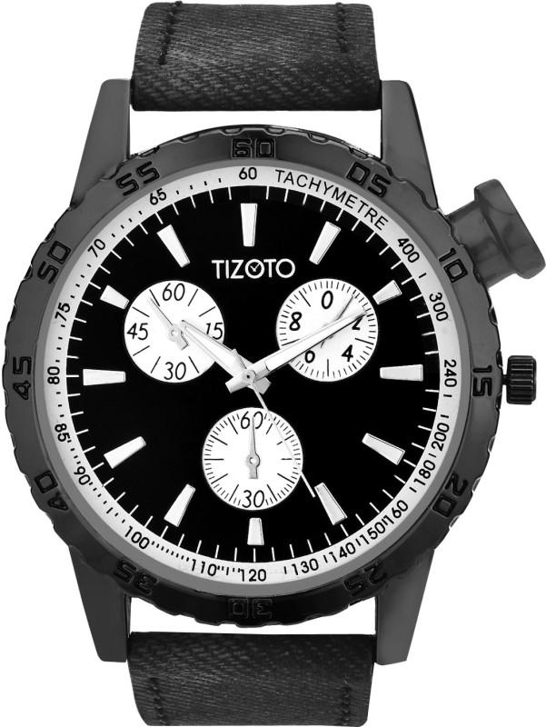 Tizoto tzom640 Tizoto Black dial metal analog watch Analog Watch