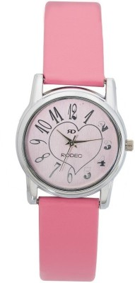 RODEC RD pink dial girls watch Analog Watch  - For Women