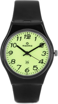 Maxima 02029PPGW Fiber Analog Watch  - For Men