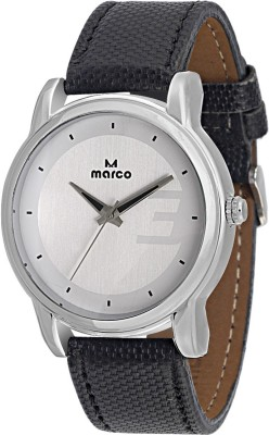 Marco MR-GR050-WHT-BLK Marco Analog Watch  - For Men