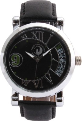 New Orleans Time Club NOR-023-BLK_007 Analog Watch  - For Men