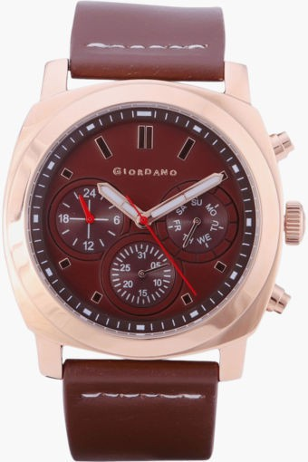 Deals | Giordano & more Leather Strap Watches