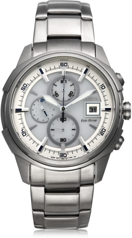 Citizen CA0370 54A Eco Drive Analog Watch For Men