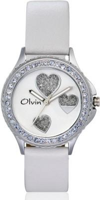 Olvin 16123-SL01 16123-SL Analog Watch  - For Women