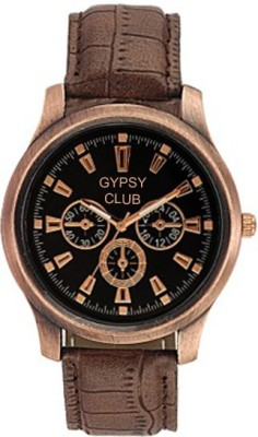 Gypsy Club GC-94 Ultimate Chronograph Pattern Analog Watch  - For Men, Boys