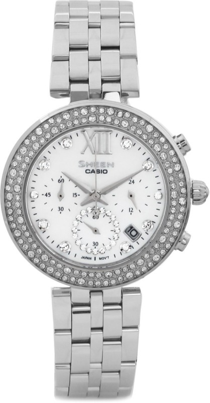 Casio SX118 Sheen Analog Watch For Women