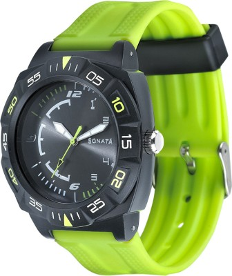 SF 77008PP03 Superfibre Analog Watch  - For Men