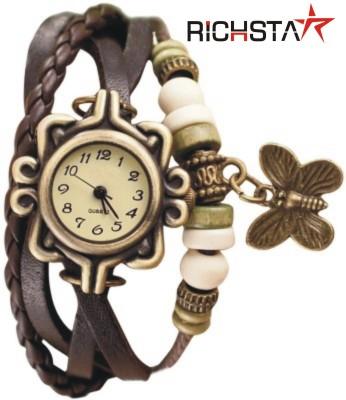 Richstar RMVINTAGEBRN_02 Vintage Butterfly4 Analog Watch  - For Girls, Women