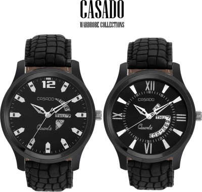 Casado C-131::132 Day And Date Combo Analog Watch  - For Men, Boys