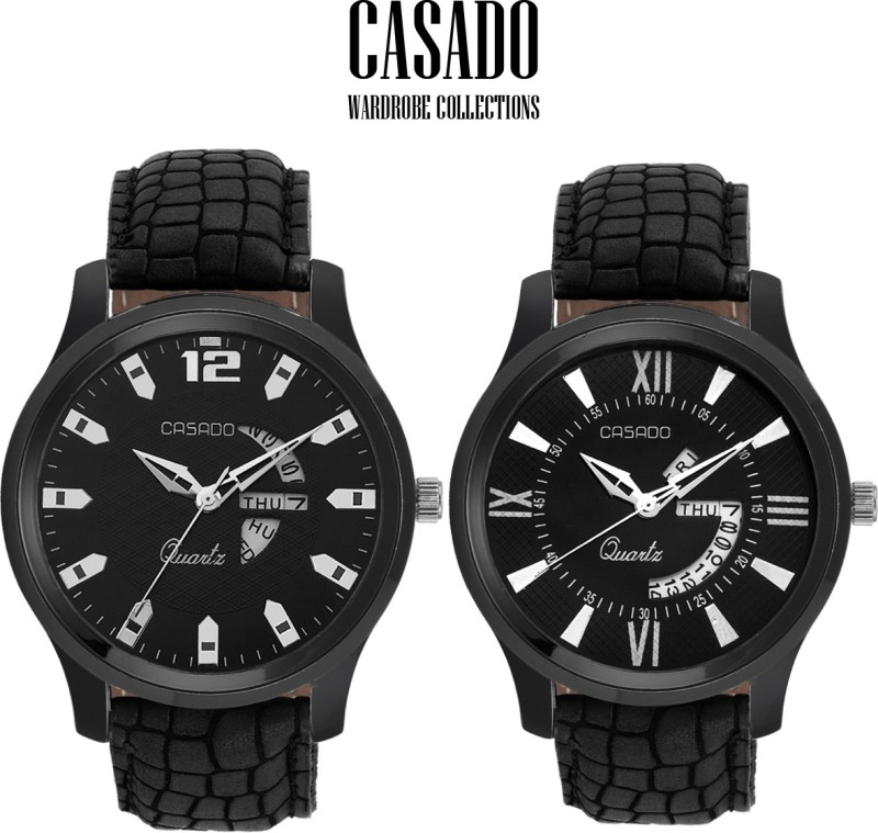 Casado C 131132 Day And Date Combo Analog Watch For Men